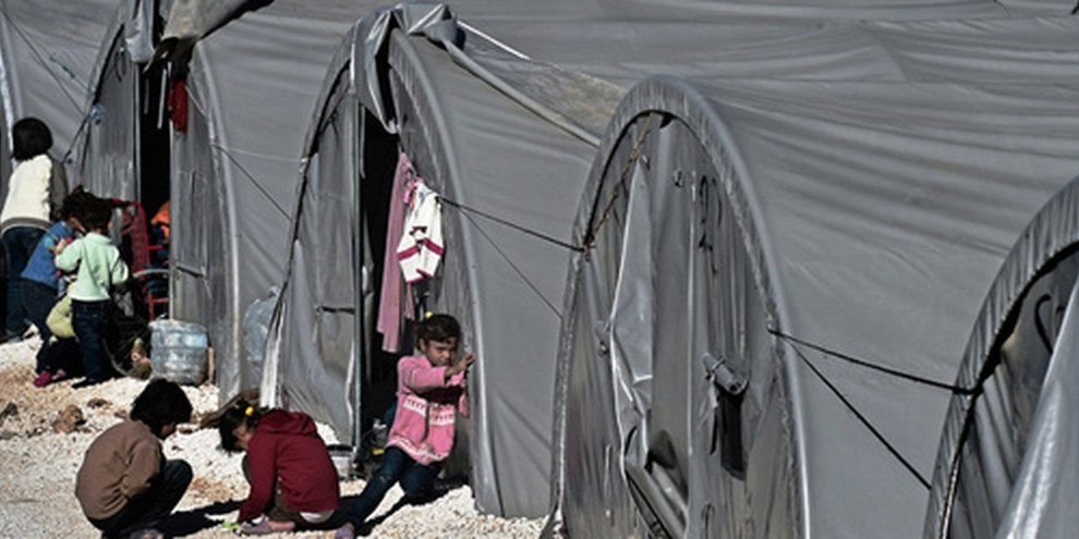 L'essentiel des personnes fuyant la Syrie se retrouvent dans les pays limitrophes sans que l'Union européenne s'en inquiète. © Getty Images