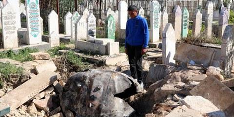 L'année dernière, les attaques au baril d'explosifs largués depuis des hélicoptères ont tué plus de 3 000 civils dans le gouvernorat d'Alep. © REUTERS