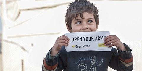 Le HCR a identifié 380 000 réfugiés comme étant vulnérables et ayant besoin d'une réinstallation, notamment les mineurs non accompagnés. © Amnesty International