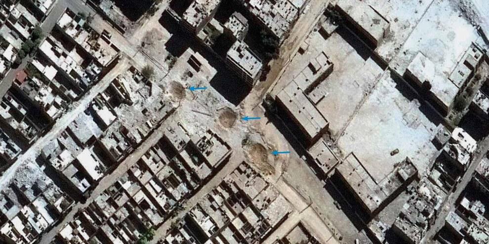 Alep, octobre 2016 © DigitalGlobe 2016