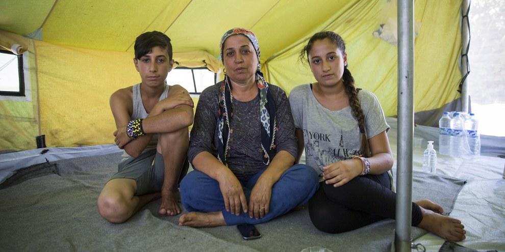 Plus de 4,5 millions de réfugiés venant de Syrie se trouvent dans seulement cinq pays, à savoir la Turquie, le Liban, la Jordanie, l'Irak et l'Égypte. © Amnesty International