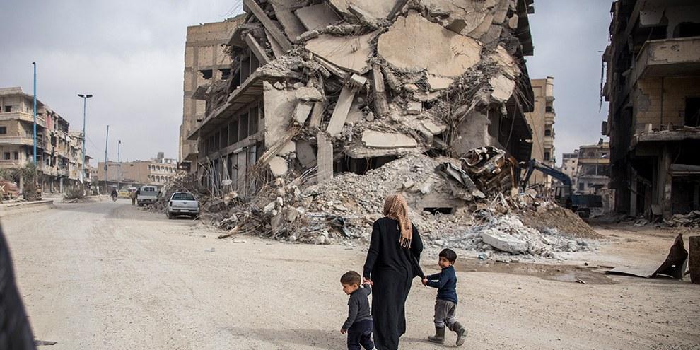 Raqqa, Syrie © Amnesty International