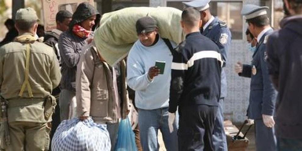Des demandeurs d'asile venus de Libye continuent d'affluer en Tunisie. ©UNHCR/ A.Branthwaite