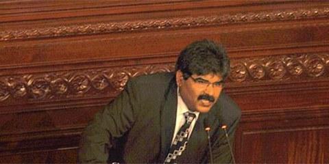 Mohamed Brahmi était un membre proéminent de l'opposition. © Samir ABDELMOUMEN/Commons