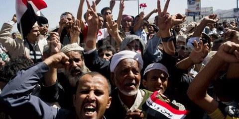 Manifestations pacifiques réprimées dans la violence. © AI