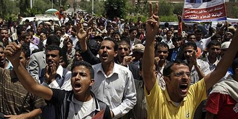 Six manifestants ont été tués par balles dans la capitale yéménite, Amnesty International demande une enquête. © APGraphicsBank