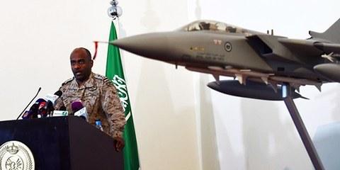 Les frappes aériennes coordonnées par l'Arabie saoudite n'ont pas fait l'objet des précautions d'usage pour épargner les civils. © FAYEZ NURELDINE/AFP/Getty Images