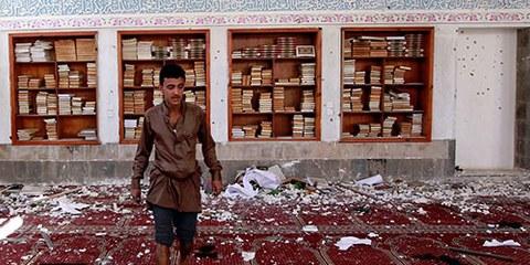 Ces attentats sont parmi les plus meurtriers au Yémen depuis que les houthistes ont pris le contrôle de la capitale en septembre 2014. © MOHAMMED HUWAIS/AFP/Getty Images