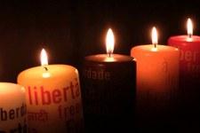 Stand d'informations et vente de bougies