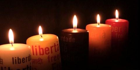 Vente de «Bougies de la Liberté»
