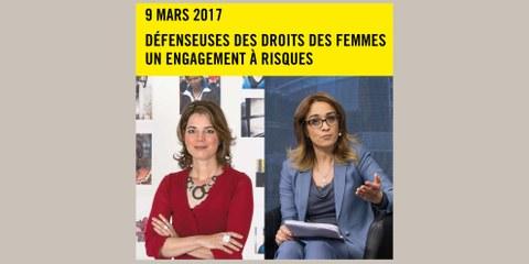 Conférence avec Manon Schick et Leïla Alikarami