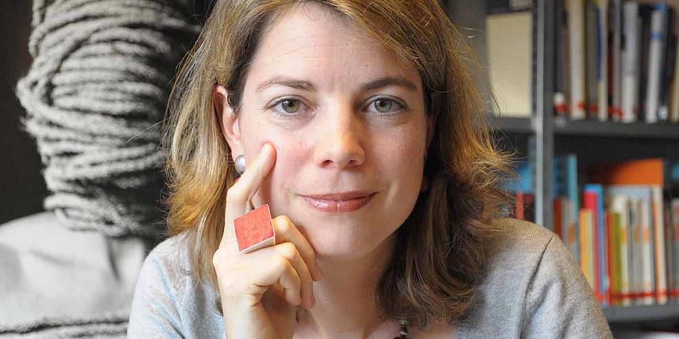 Manon Schick, directrice d'Amnesty International Suisse. © Amnesty International