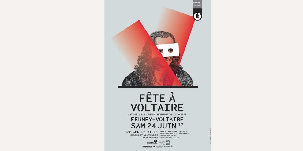 Affiche de la Fête à Voltaire