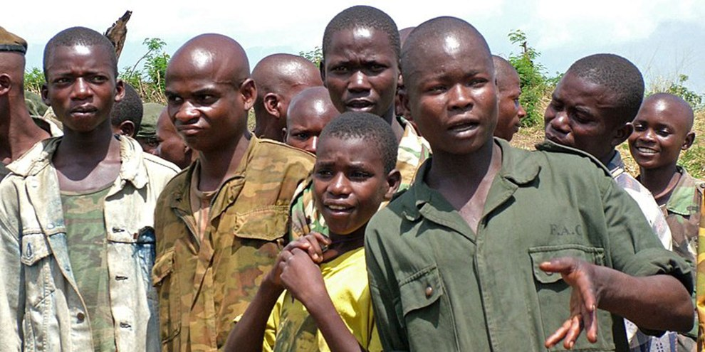 Enfants-soldats en RDC. © Wikimedia Commons