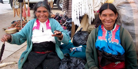 Deux femmes chiapas, Mexique. © Wikimedia Commons