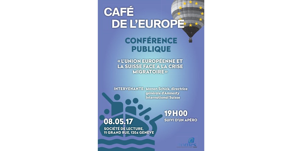 Flyer du Café de l'Europe. © NOMES