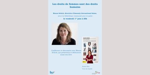 Conférence de Manon Schick sur les droits des femmes