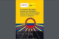 Discussion sur les droits humains en Colombie