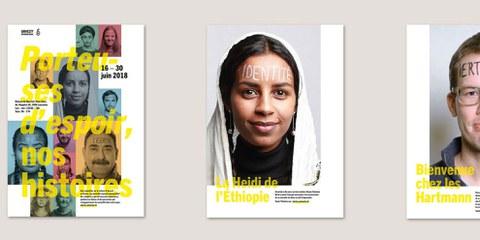 Stand Amnesty pour la Journée des réfugiés