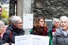 Anni Lanz, défenseuse des droits humains, condamnée pour délit de solidarité © AICH