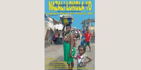 Tournée du Théâtre des Intrigants de RDC - Nazai lokola Yo - Genève
