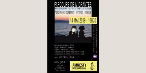 Soirée «Parcours de migrantes»