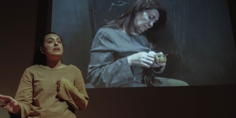 Spectacle: «CELLULE N°1» de Salma Lagrouni