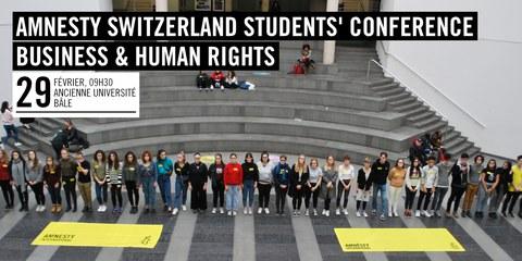 Amnesty Switzerland Students Conference 2019 © Amnesty International