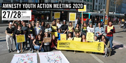 Amnesty Youth Action Meeting 2019 © Amnesty International