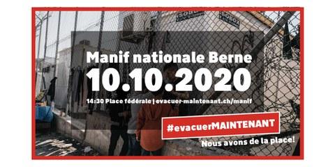 #evacuerMAINTENANT - Manifestation nationale