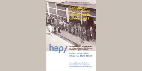 Projection et débat - Carl Lutz et l'engagement citoyen: obéir ou désobéir?
