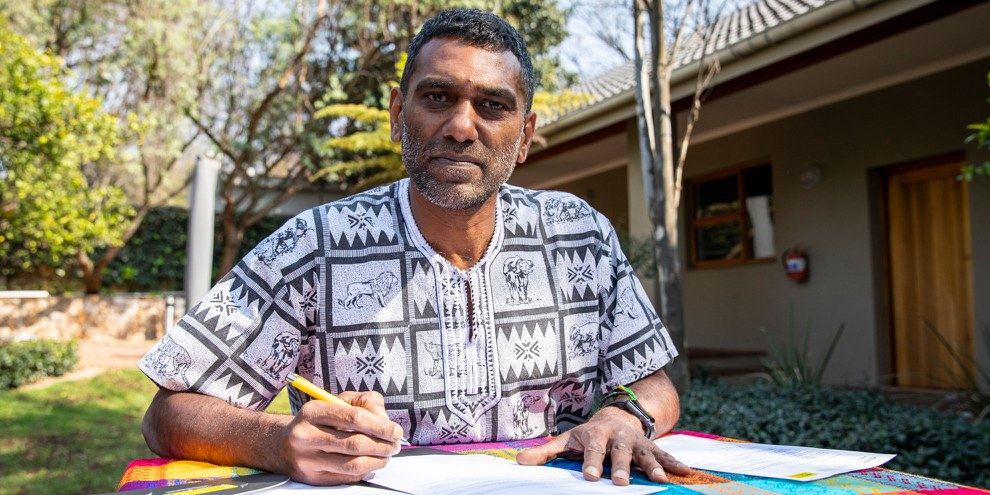 Kumi Naidoo, secrétaire général d'Amnesty International. © Amnesty International