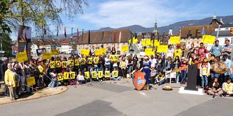 Les groupes d'Amnesty en Suisse
