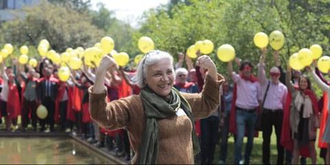 Idil Eser, la directrice d'Amnesty Turquie, se réjouit de la campagne CEDH.