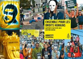 Rapport d'activité 2013 de la section suisse d'Amnesty International