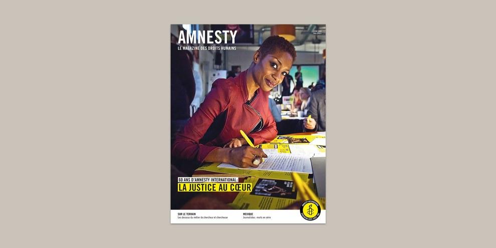 Action en faveur d'un cas individuel. © Amnesty International Pays-Bas