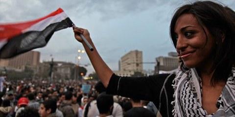 Le Caire, printemps 2011. © Al Jazeera English