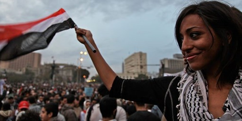 Le Caire, printemps 2011. © Al Jazeera English