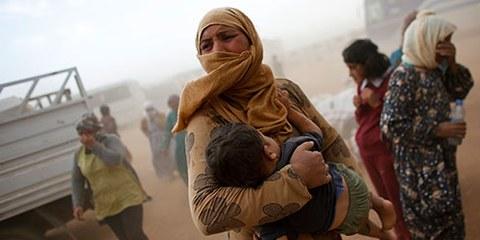 De plus en plus de civils sont contraints de vivre sous le contrôle de groupes armés violents. © MURAD SEZER/Reuters/Corbis