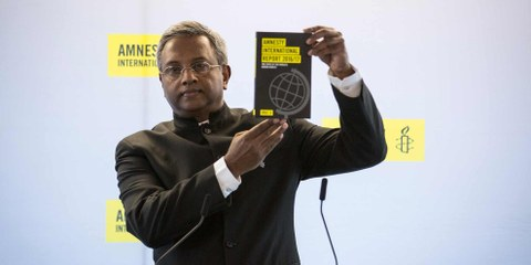 Salil Shetty, secrétaire général d'Amnesty International. © AI