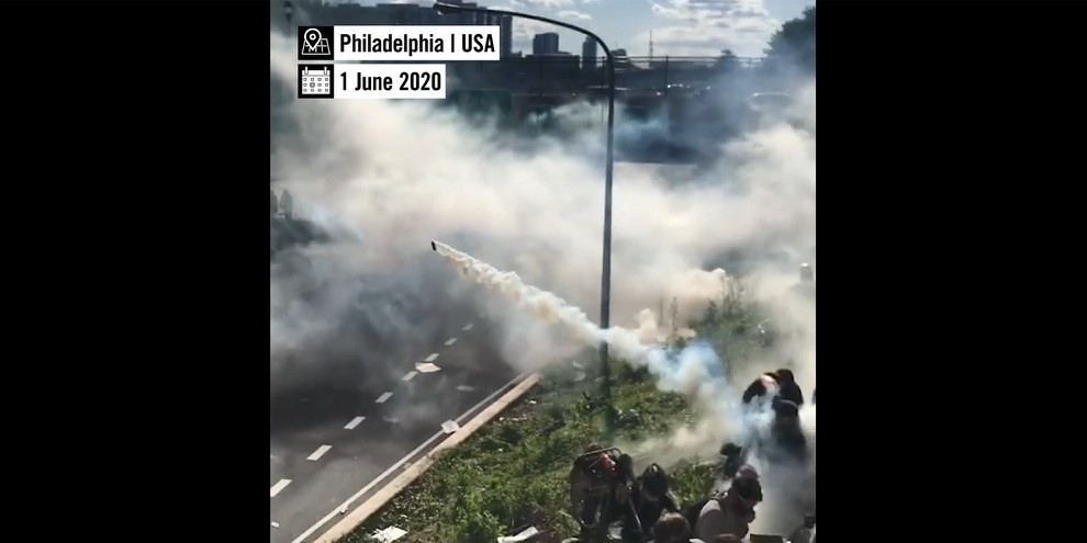 Tear Gas: An Investigation (en anglais)