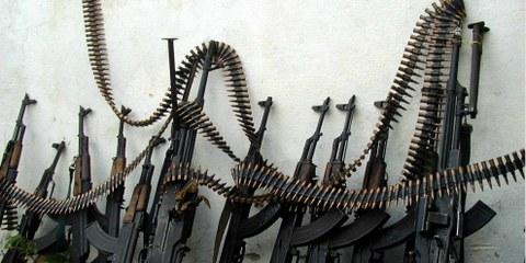 Malgré l'entrée en vigueur, il y a cinq ans, du Traité sur le commerce des armes (TCA), le commerce mondial des armes ne cesse de croître. ©Keystone