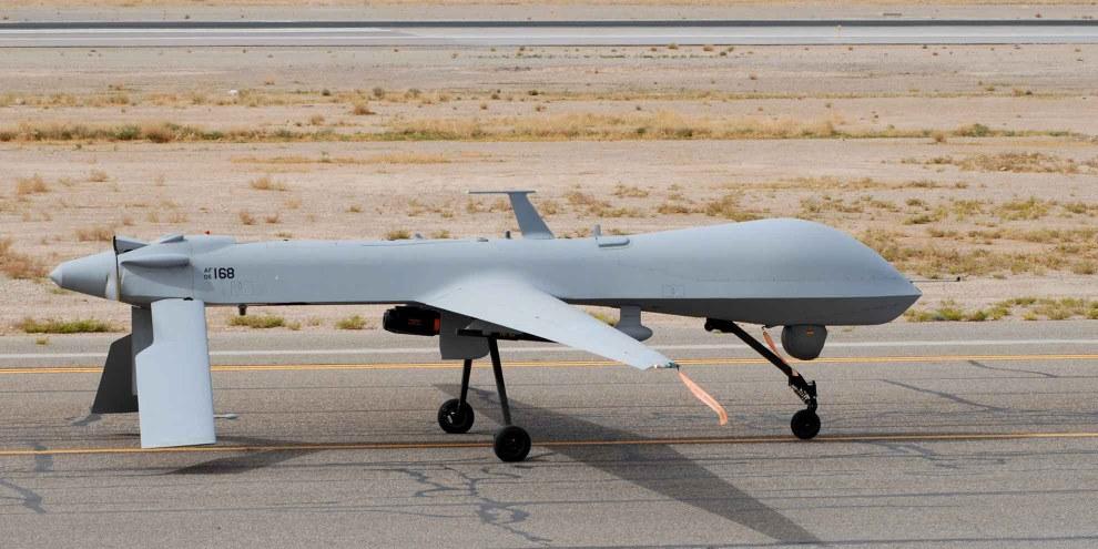 Un «MQ-1-Predator» de retour d'une mission. © Wikicommons/ US AirForce