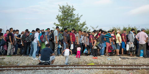 Les appels de fonds de l'ONU en faveur des réfugiés sont régulièrement et gravement sous-financés. © Amnesty International Richard Burton
