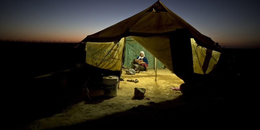 D'après l'UNICEF, plus de 80% des enfants syriens ont été blessés au cours des cinq dernières années de conflit. © AP Photo/Muhammed Muheisen