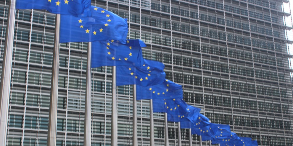 La Commission européenne à Bruxelles ouvre des procédures d'infractions contre la Hongrie, la Pologne et la République tchèque. ©Wikicommons