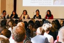 Plus de 1350 personnes ont entendu le témoignage de Raneem Ma'touq et Amal Nasr