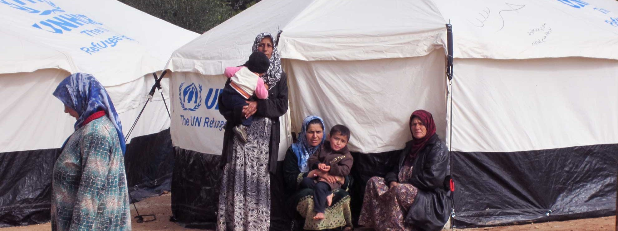 Camps de réfugiés en Syrie, février 2013. © Amnesty International
