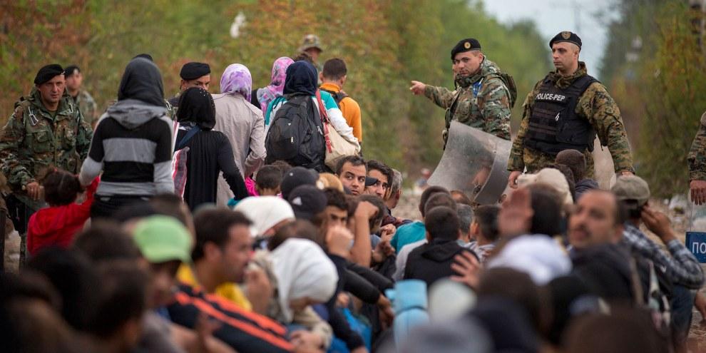 L'UE m'a toujours pas trouvé d'accord sur la mise en place de voies d'accès sûres et légales vers l'Europe pour les réfugiés. | © Amnesty International, Richard Burton