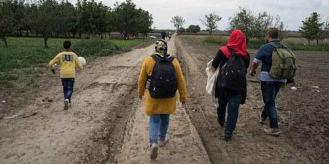 Macédoine: Le sort incertain des réfugiés sur la route des Balkans